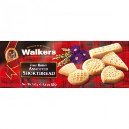 Walkers Assorted Shortbread Shapes