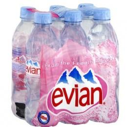 Evian 6 x 1.5lt Pet