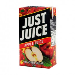 Just Juice Apple cartons 12 x 1L