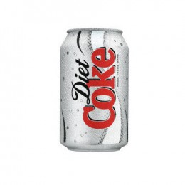 Diet Coke cans 24 x 300ml (Irish)