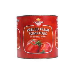 Caterers Pride Whole Plum Tomatos