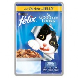 Felix As Good As It Looks Pouch - Chicken