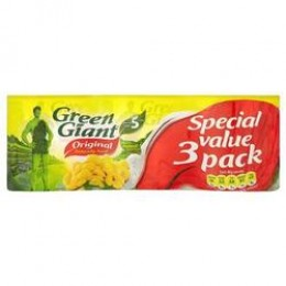 Green Giant Sweetcorn Niblets 3-Pack