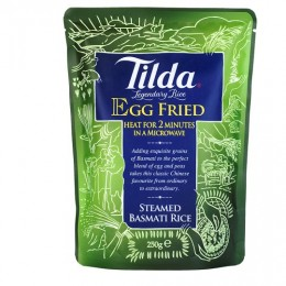 Tilda Steamed Basmati Rice - Egg-Fried