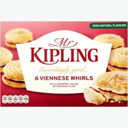 Mr Kipling Vienesse Whirls 6 Pack