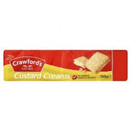 Crawfords Custard Cream 150g