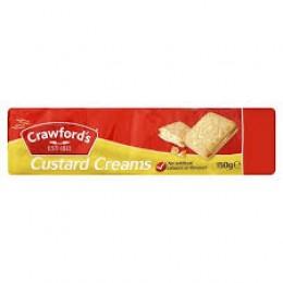 Crawfords Custard Cream 150g