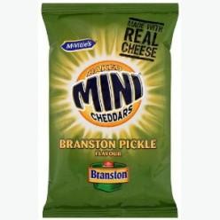 Mini Cheddars Branston Pickle